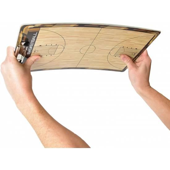 Доска тренерская баскетбольная тактическая GoSport Basketball Coaching Board 24х40 см (GS01)