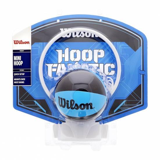 Мини-щит баскетбольный Wilson Mini Hoop Fanatic 23х29 см на двери для игор и развлечений (WTBA00436)