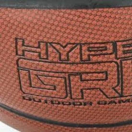 Баскетбольный мяч Nike Jordan Hyper Grip размер 7 композитная кожа для игры зал-улица (J.KI.01.858.07)