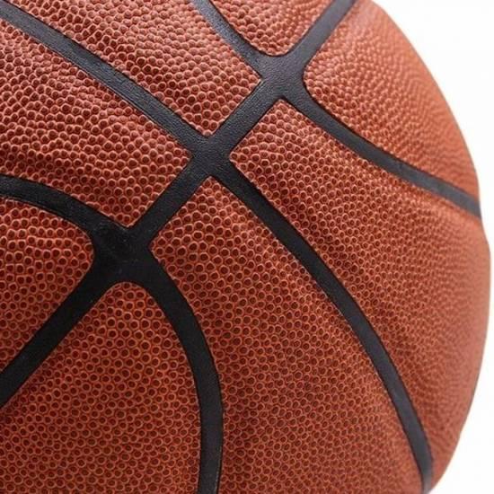 Баскетбольный мяч Nike Elite Competition 2.0 размер 7 композитная кожа для игры зал-улица (N.000.2644.855.07)