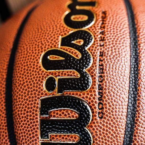 Мяч баскетбольный Wilson REACTION PRO размер 5, 6, 7 композитная кожа коричневый (WTB10137XB07)