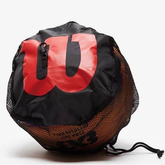 Чехол-сетка для баскетбольного мяча Wilson Single Ball (WTB201910)