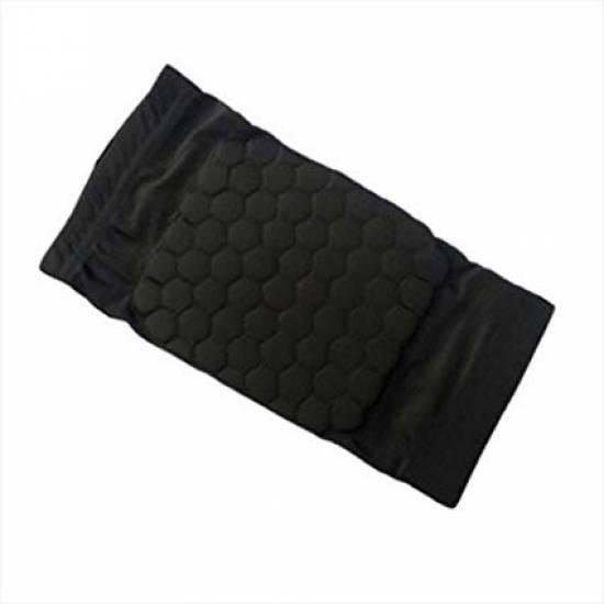 Наколенники баскетбольные 2 шт. Hex Knee Pads S-M-L спандекс-нейлон черный (3066)