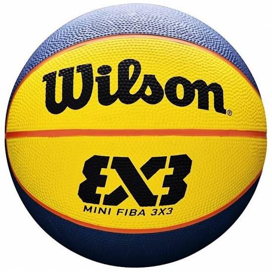 Мини-мяч баскетбольный Wilson FIBA 3х3 Mini Ball размер 3 резина (WTB1733XB)